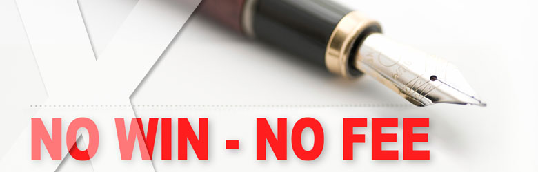 No Win No Fee guarantee